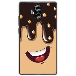 Funda Gel Tpu para Doogee Mix Lite Diseño Helado Chocolate Dibujos