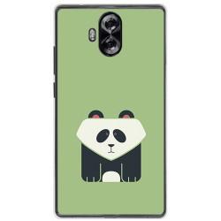 Funda Gel Tpu para Doogee Mix Lite Diseño Panda Dibujos