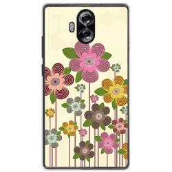 Funda Gel Tpu para Doogee Mix Lite Diseño Primavera En Flor Dibujos