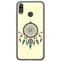 Funda Gel Tpu para Huawei P20 Lite Diseño Atrapasueños Dibujos