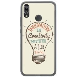 Funda Gel Tpu para Huawei P20 Lite Diseño Creativity Dibujos