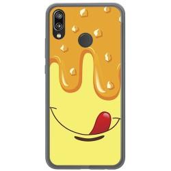Funda Gel Tpu para Huawei P20 Lite Diseño Helado Vainilla Dibujos