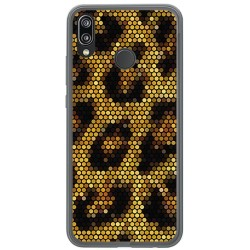 Funda Gel Tpu para Huawei P20 Lite Diseño Leopardo Dibujos
