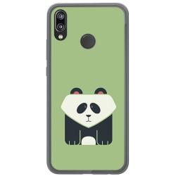Funda Gel Tpu para Huawei P20 Lite Diseño Panda Dibujos