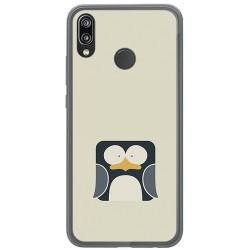 Funda Gel Tpu para Huawei P20 Lite Diseño Pingüino Dibujos