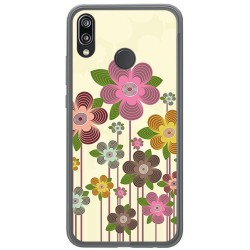 Funda Gel Tpu para Huawei P20 Lite Diseño Primavera En Flor Dibujos
