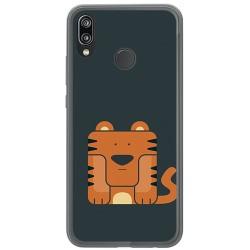 Funda Gel Tpu para Huawei P20 Lite Diseño Tigre Dibujos