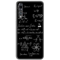 Funda Gel Tpu para Huawei P20 Pro Diseño Formulas Dibujos