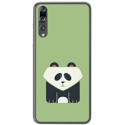 Funda Gel Tpu para Huawei P20 Pro Diseño Panda Dibujos