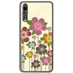 Funda Gel Tpu para Huawei P20 Pro Diseño Primavera En Flor Dibujos