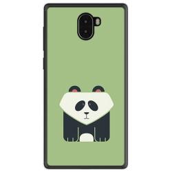 Funda Gel Tpu para Leagoo Kiicaa Mix Diseño Panda Dibujos