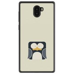 Funda Gel Tpu para Leagoo Kiicaa Mix Diseño Pingüino Dibujos