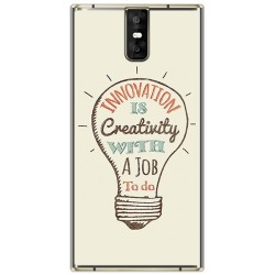 Funda Gel Tpu para Oukitel K3 Diseño Creativity Dibujos
