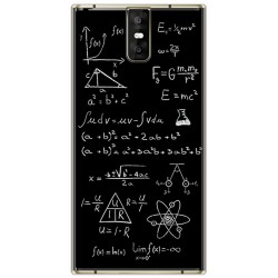 Funda Gel Tpu para Oukitel K3 Diseño Formulas Dibujos