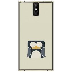 Funda Gel Tpu para Oukitel K3 Diseño Pingüino Dibujos
