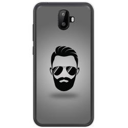 Funda Gel Tpu para Ulefone S7 / S7 Pro Diseño Barba Dibujos