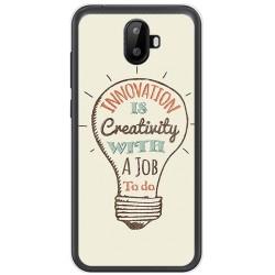 Funda Gel Tpu para Ulefone S7 / S7 Pro Diseño Creativity Dibujos