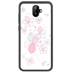 Funda Gel Tpu para Ulefone S7 / S7 Pro Diseño Flores Minimal Dibujos