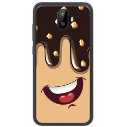 Funda Gel Tpu para Ulefone S7 / S7 Pro Diseño Helado Chocolate Dibujos