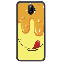 Funda Gel Tpu para Ulefone S7 / S7 Pro Diseño Helado Vainilla Dibujos