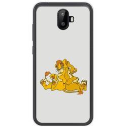 Funda Gel Tpu para Ulefone S7 / S7 Pro Diseño Leones Dibujos