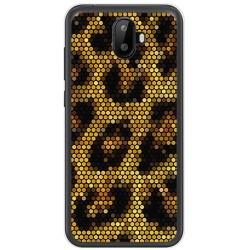 Funda Gel Tpu para Ulefone S7 / S7 Pro Diseño Leopardo Dibujos