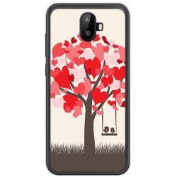 Funda Gel Tpu para Ulefone S7 / S7 Pro Diseño Pajaritos Dibujos
