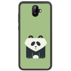 Funda Gel Tpu para Ulefone S7 / S7 Pro Diseño Panda Dibujos