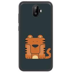Funda Gel Tpu para Ulefone S7 / S7 Pro Diseño Tigre Dibujos
