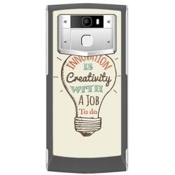 Funda Gel Tpu para Oukitel K10000 Pro Diseño Creativity Dibujos