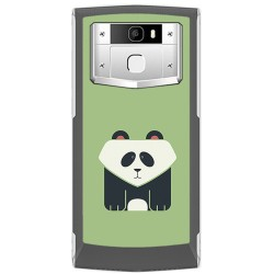 Funda Gel Tpu para Oukitel K10000 Pro Diseño Panda Dibujos