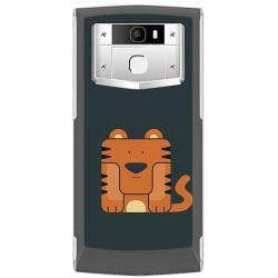 Funda Gel Tpu para Oukitel K10000 Pro Diseño Tigre Dibujos