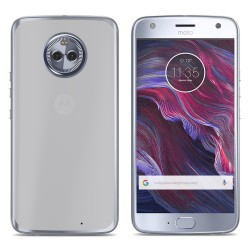 Funda Gel Tpu para Motorola Moto X4 Color Transparente