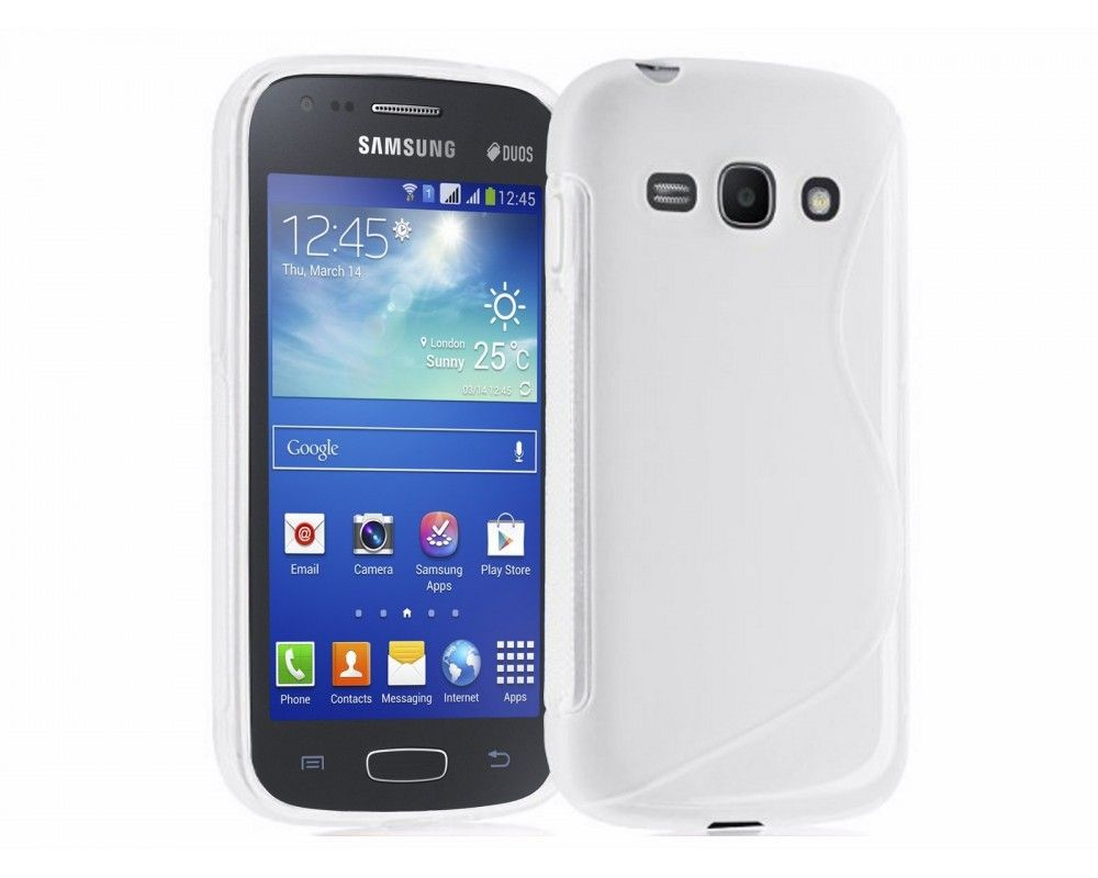 Funda Gel Tpu Samsung Galaxy Ace 3 S7270 / S7272 / S7275 S Line Color Blanca