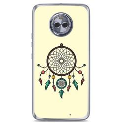 Funda Gel Tpu para Motorola Moto X4 Diseño Atrapasueños Dibujos