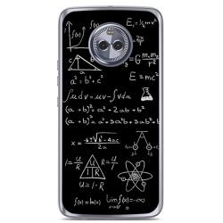Funda Gel Tpu para Motorola Moto X4 Diseño Formulas Dibujos
