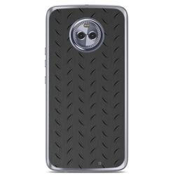 Funda Gel Tpu para Motorola Moto X4 Diseño Metal Dibujos