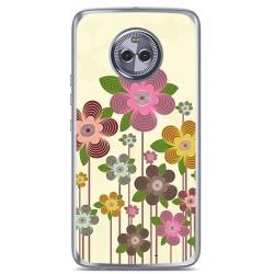 Funda Gel Tpu para Motorola Moto X4 Diseño Primavera En Flor Dibujos