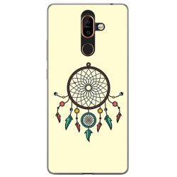 Funda Gel Tpu para Nokia 7 Plus Diseño Atrapasueños Dibujos