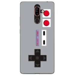 Funda Gel Tpu para Nokia 7 Plus Diseño Consola Dibujos