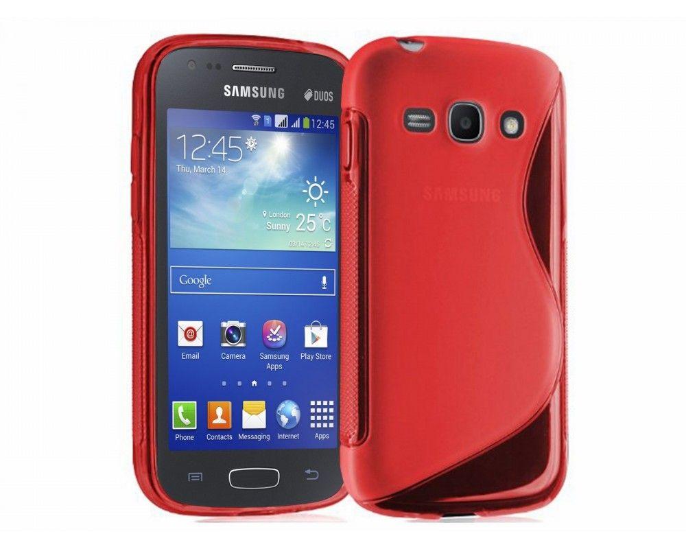 Funda Gel Tpu Samsung Galaxy Ace 3 S7270 / S7272 / S7275 S Line Color Roja