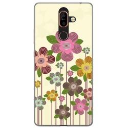 Funda Gel Tpu para Nokia 7 Plus Diseño Primavera En Flor Dibujos