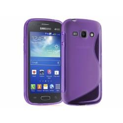 Funda Gel Tpu Samsung Galaxy Ace 3 S7270 / S7272 / S7275 S Line Color Morada