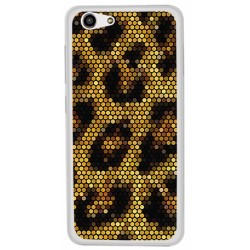 Funda Gel Tpu para Zte Blade A522 Diseño Leopardo Dibujos