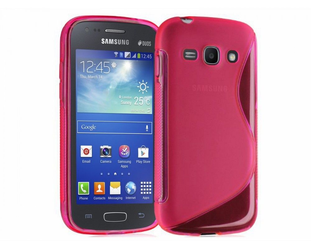 Funda Gel Tpu Samsung Galaxy Ace 3 S7270 / S7272 / S7275 S Line Color Rosa