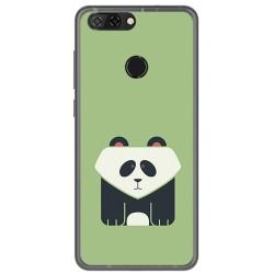 Funda Gel Tpu para Zte Blade V9 Diseño Panda Dibujos