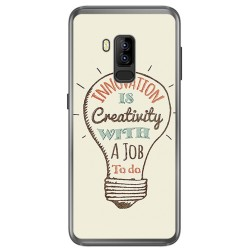 Funda Gel Tpu para Bluboo S8 Plus Diseño Creativity Dibujos