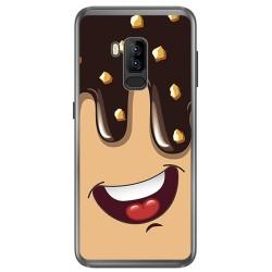 Funda Gel Tpu para Bluboo S8 Plus Diseño Helado Chocolate Dibujos