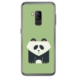 Funda Gel Tpu para Bluboo S8 Plus Diseño Panda Dibujos