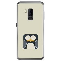 Funda Gel Tpu para Bluboo S8 Plus Diseño Pingüino Dibujos